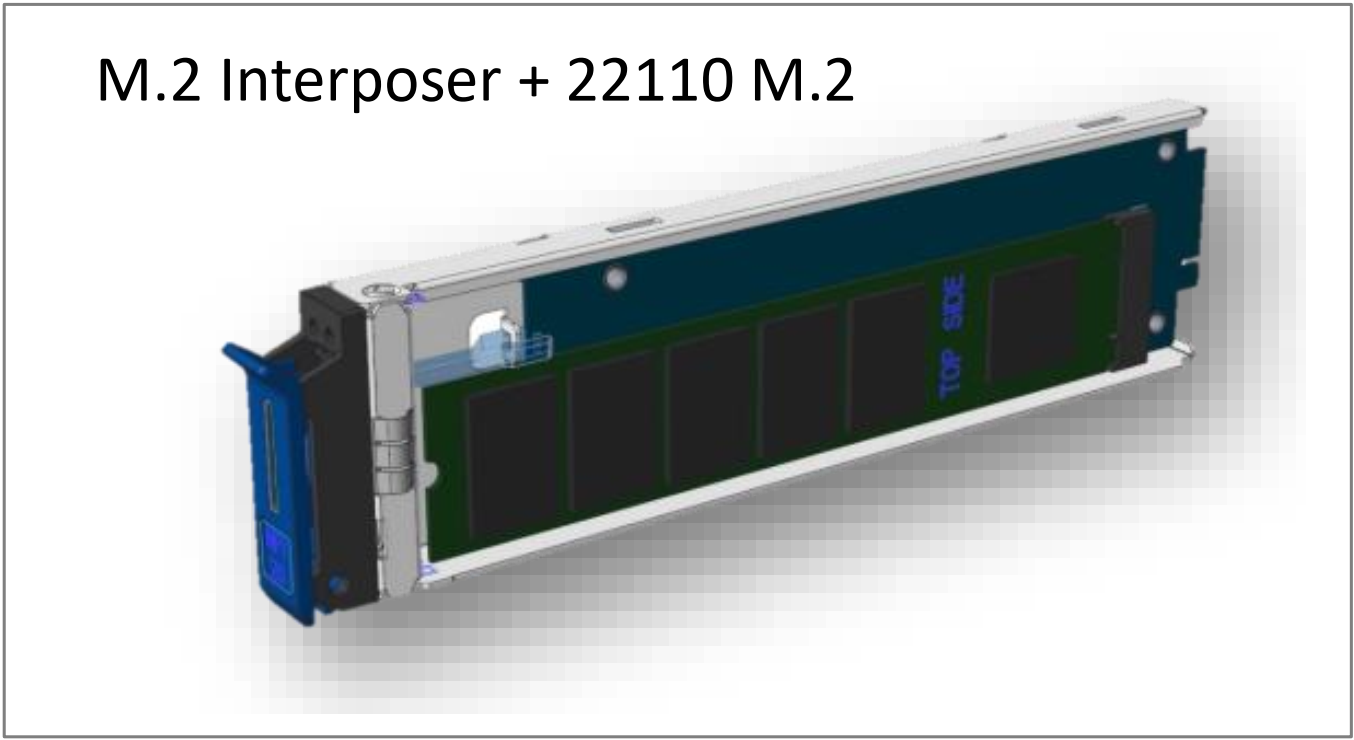 NVMe36 M.2 22110 carrier