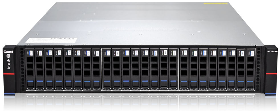 DST202 S24RB HA Server 24x2.5 front