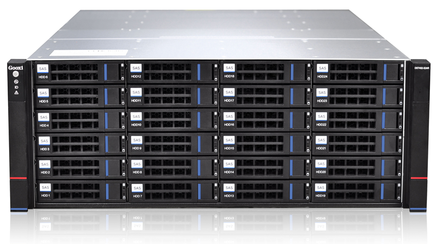 DST402 S24RB HA Server 24x3.5 front
