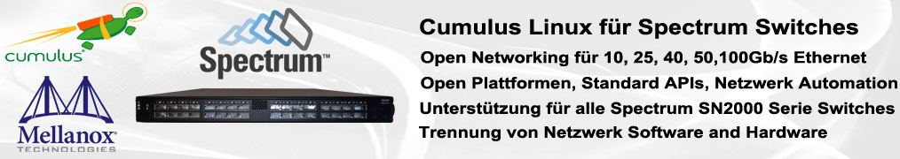 Cumulus Networks Mellanox Spectrum