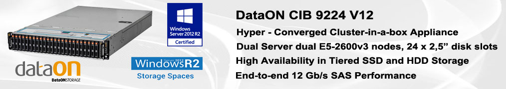 DataON CIB9224 Cluster in a box e