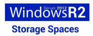 Storage Spaces Logo bl