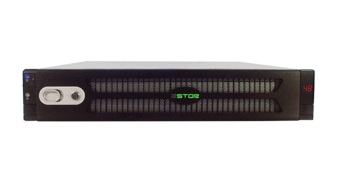 Zstor AJ248F 2U Flash Array 48 Bay Front
