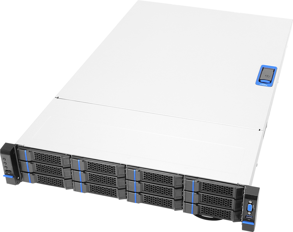 GS312 GridServer front 45
