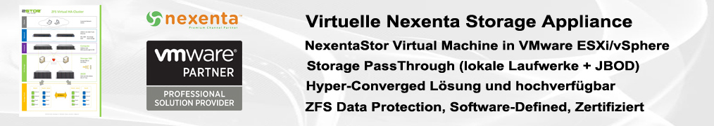 Zstor Virtual Nexenta d