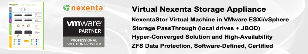 Zstor Virtual Nexenta e